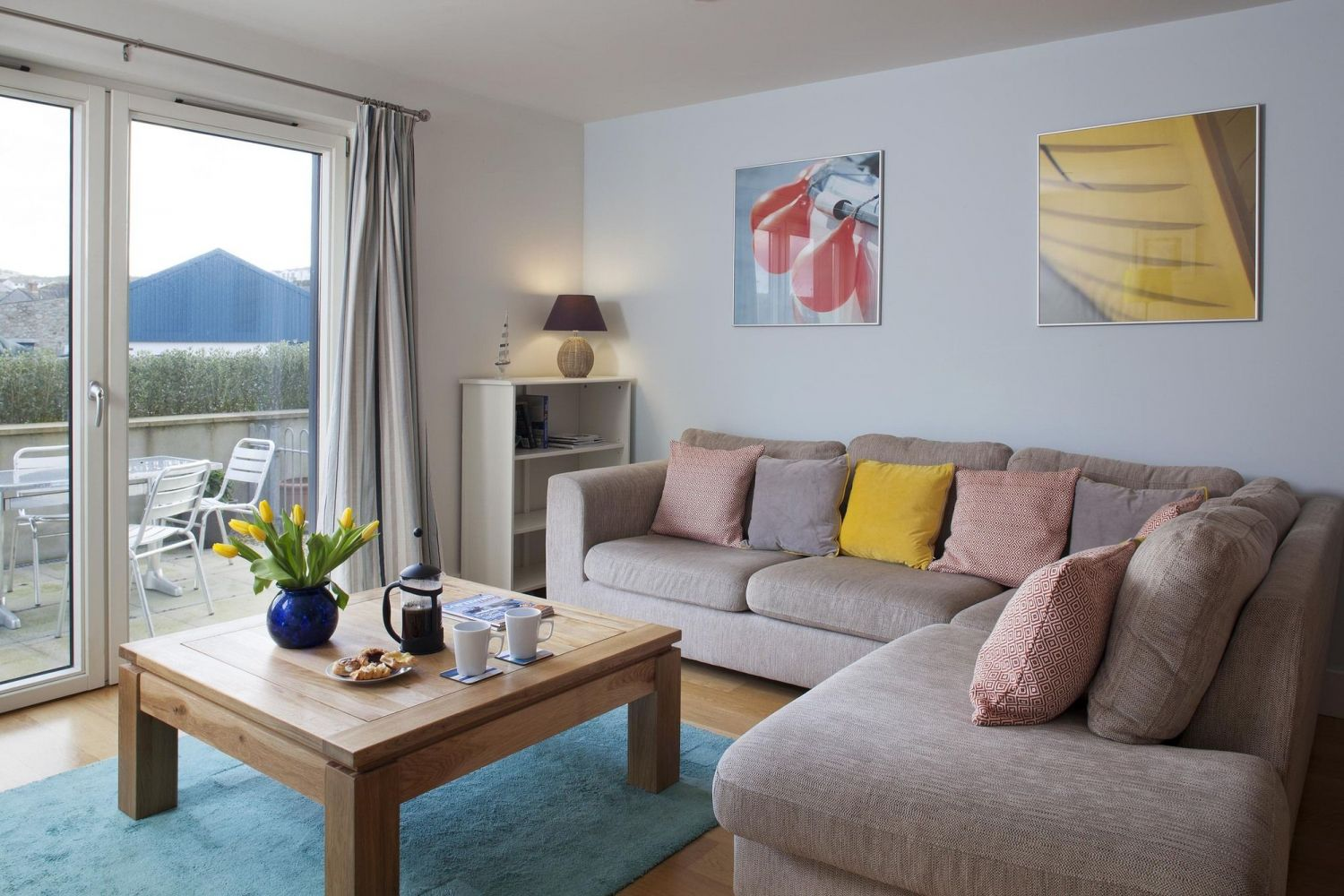 Spinnaker Apartment - Porthleven Holiday Cottages