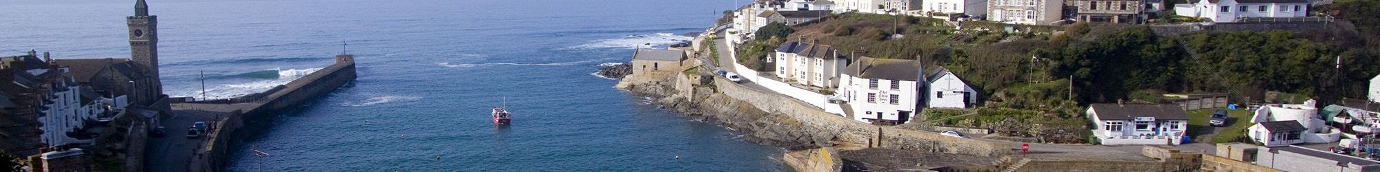 Porthleven Harbour view