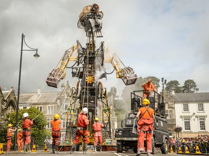 Porthleven Holiday Cottages - the Man Engine tour